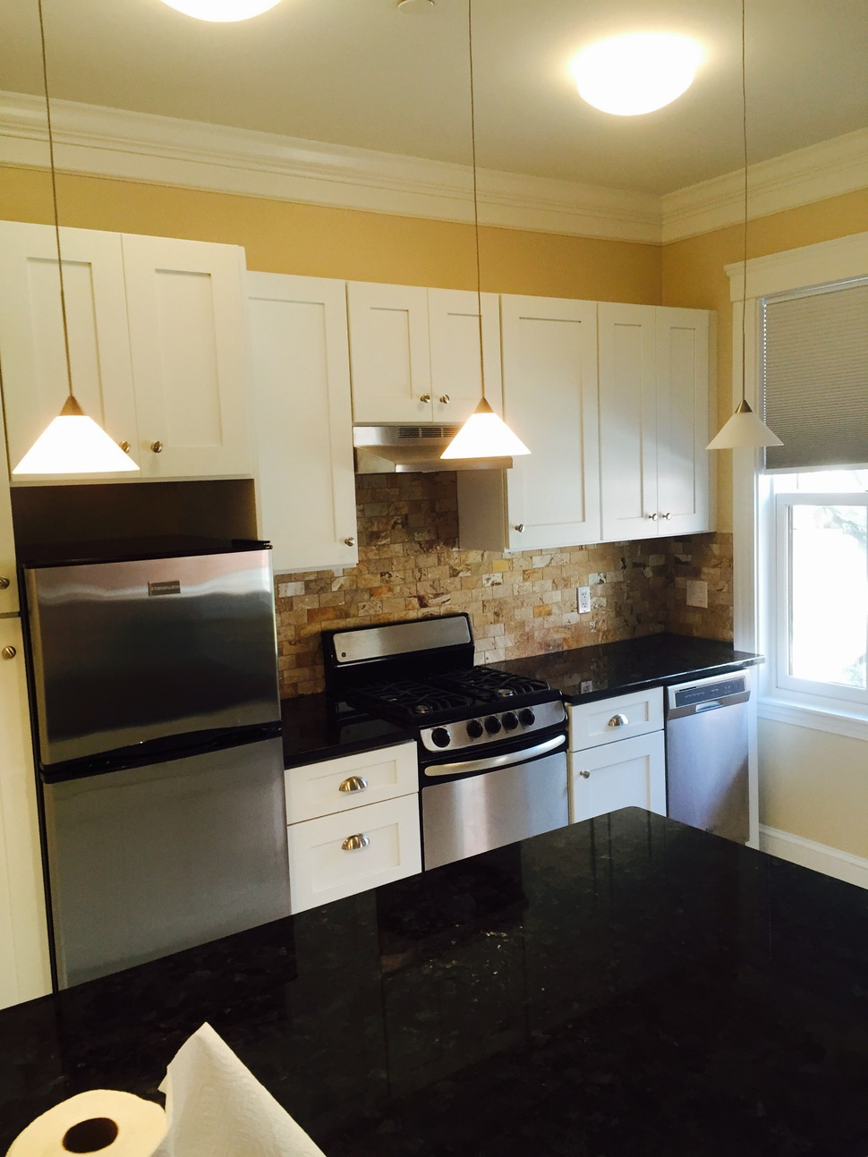Kitchens throughout massachusetts refine construction for Kitchen cabinets quincy ma